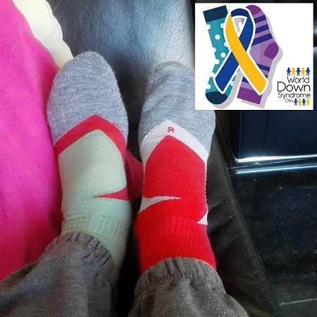 Unmatched Socks for World Down Syndrome Day