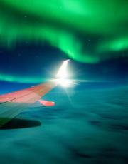 Space weather can affect aviation